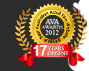 AVA Award Winner - 17 Years Online